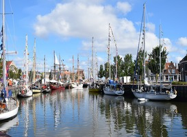 Normal_harlingen__schepen__haven__water__huizen__friesland