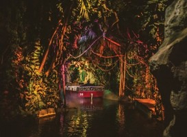 Jungle-gedeelte in Efteling-attractie 'Fata Morgana'