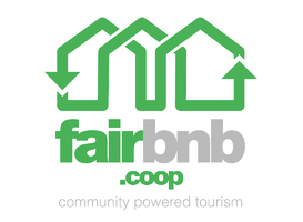 Fairbnb.coop - community powered tourism - logo